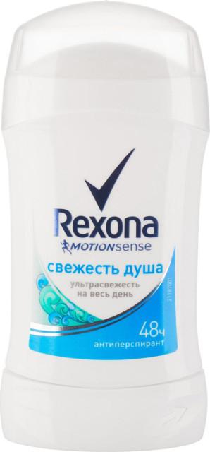Рексона дезодорант-стик Свежесть душа 40мл купить в Москве по цене от 0 рублей