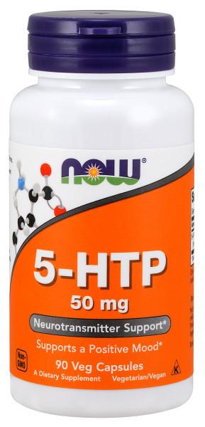 Нау Фудс 5-HTP (L-5-гидрокситриптофан) капсулы 440мг №90 купить в Москве по цене от 1470 рублей