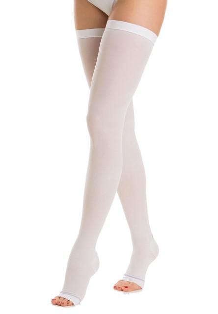 Релаксан чулки антиэмболические откр. носок 25-32мм К2 р.XL белый(М0370А/M2460A) купить в Москве по цене от 1530 рублей