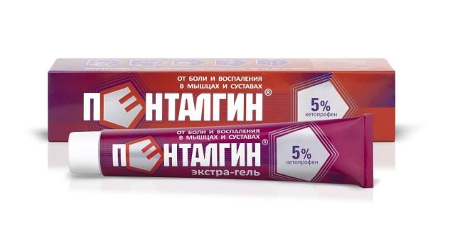 Пенталгин экстра-гель гель для наружного применения 5% 30г купить в Москве по цене от 220 рублей