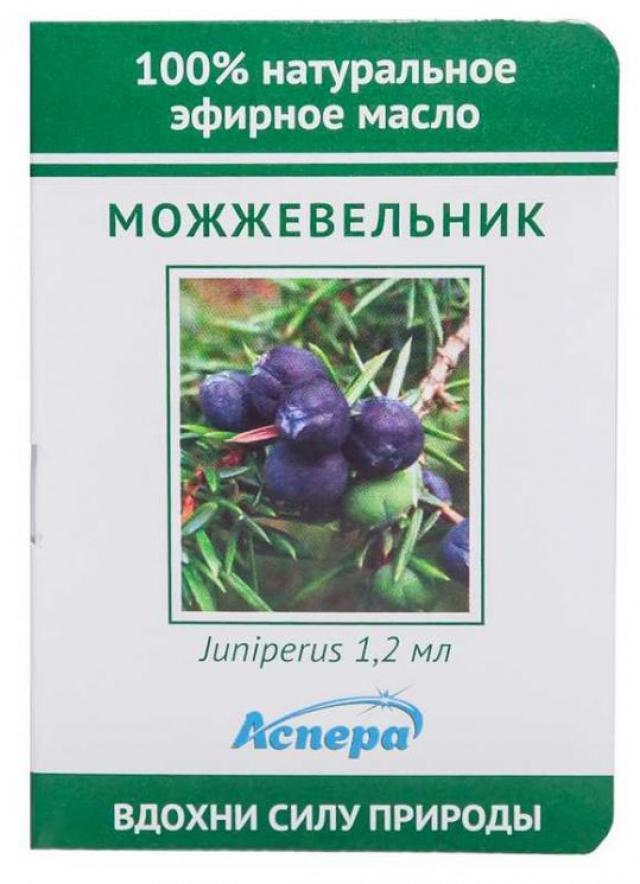 Аспера масло эф. можжевельник 1,2мл купить в Москве по цене от 0 рублей