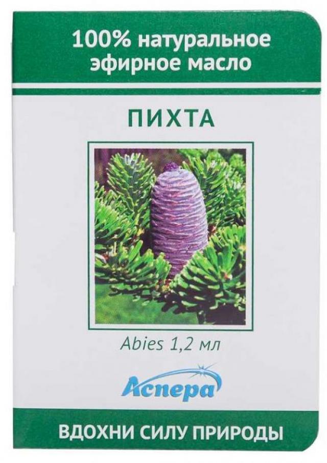 Аспера масло эф. пихта 1,2мл купить в Москве по цене от 0 рублей