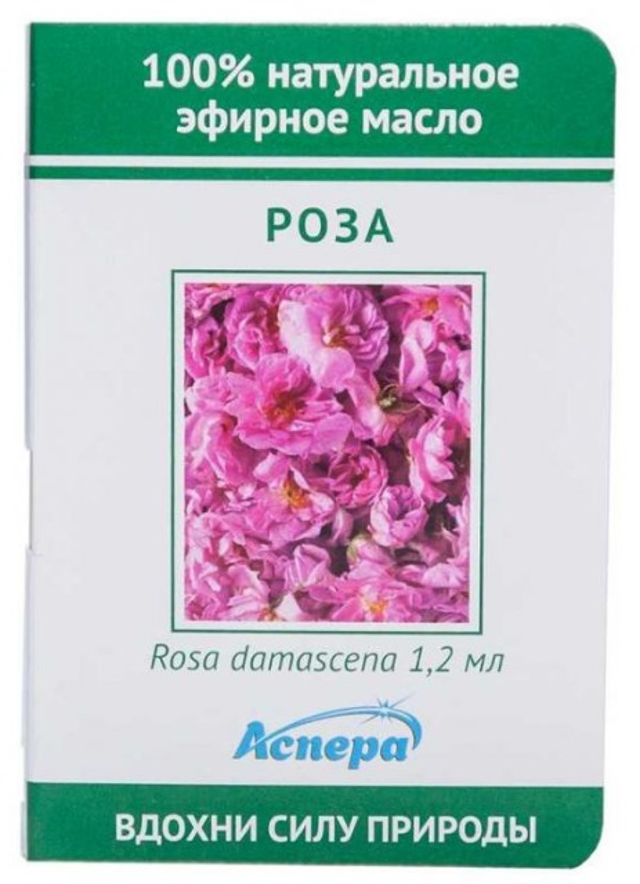 Аспера масло эф. роза 1,2мл купить в Москве по цене от 0 рублей