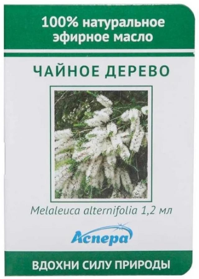 Аспера масло эф. чайн.дерево 1,2мл купить в Москве по цене от 40 рублей