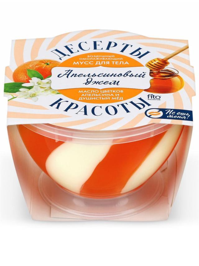 Десерты красоты мусс для тела Апельсин.джем воздушн.омолаж. 220мл купить в Москве по цене от 126 рублей