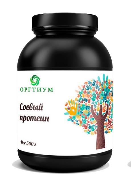 Оргтиум Протеин соевый (изолят) порошок 500г купить в Москве по цене от 0 рублей