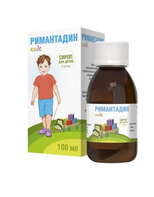 Ремантадин (Римантадин) Кидс сироп 2мг/мл 100мл купить в Москве по цене от 218 рублей