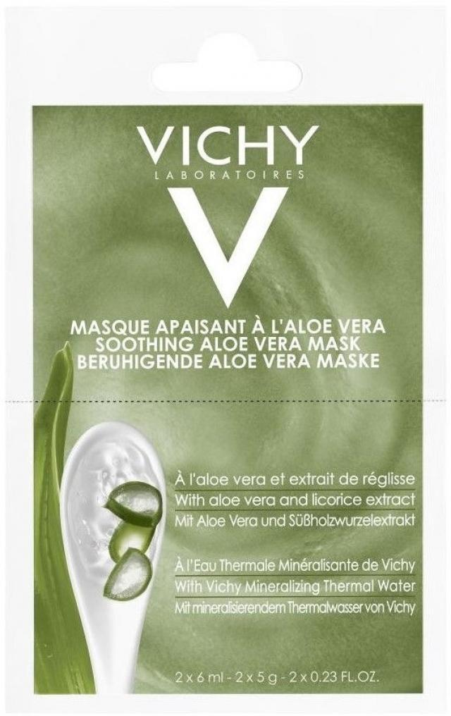 Виши маска для лица восст.алоэ 6млх2 купить в Москве по цене от 229 рублей