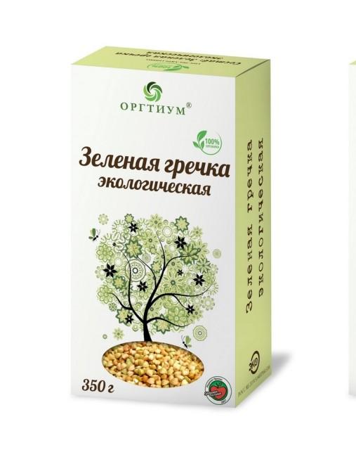 Оргтиум Гречка зеленая 200г купить в Москве по цене от 0 рублей