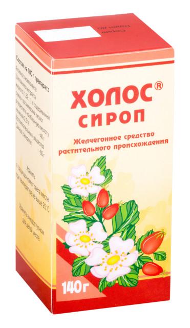 Холос сироп 140г купить в Москве по цене от 60 рублей