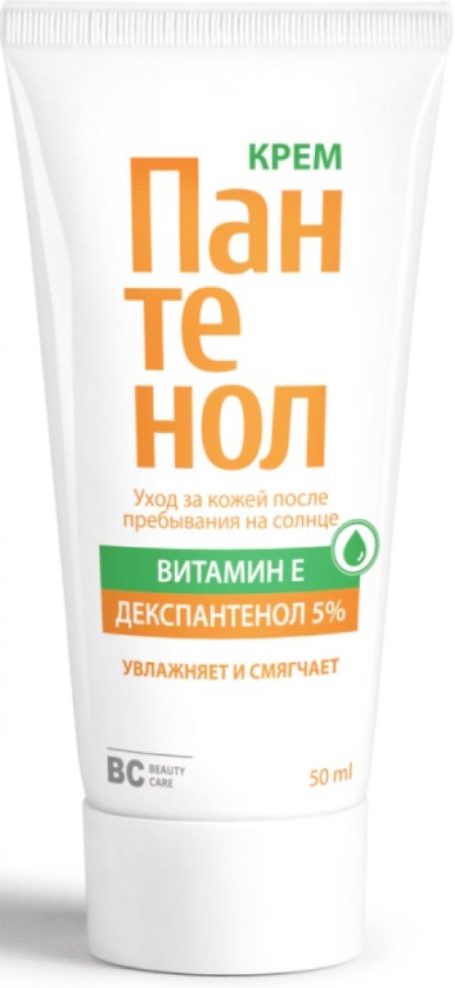БиСи крем Пантенол 5% 50мл купить в Москве по цене от 120 рублей