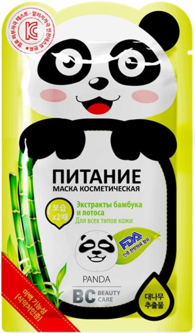 БиСи маска для лица Панда ткан.питат. 25мл купить в Москве по цене от 169 рублей