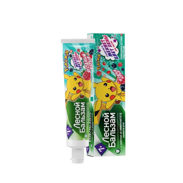 Лесной бальзам зубная паста для детей от 7лет 50мл купить в Москве по цене от 88 рублей