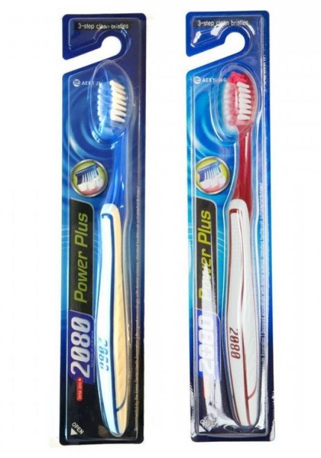 Дентал Клиник 2080 зубная щетка Пауэр Плюс купить в Москве по цене от 142 рублей