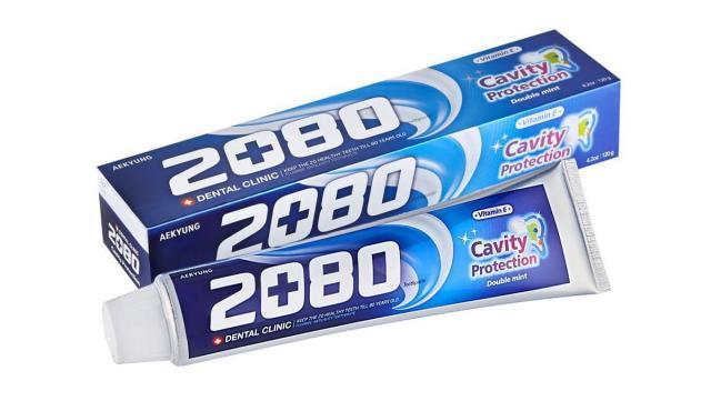 Дентал Клиник 2080 зубная паста мята 20г купить в Москве по цене от 24 рублей