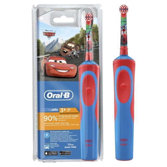 Орал Би зубная щетка электрическая Стейджс Пауэр Тачки D12.513K для детей т.3709 купить в Москве по цене от 2000 рублей