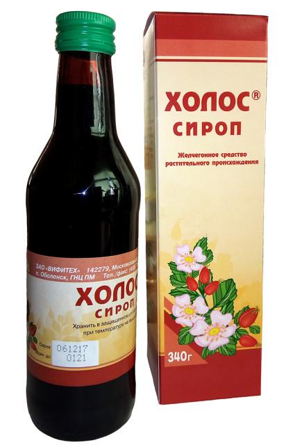 Холос сироп 340г купить в Москве по цене от 118 рублей