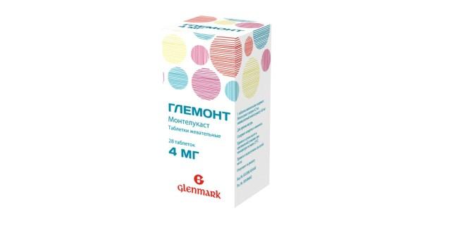 Глемонт таблетки жевательные 4мг №28 купить в Москве по цене от 716 рублей