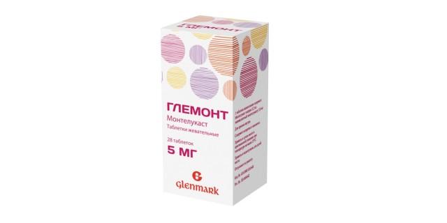 Глемонт таблетки жевательные 5мг №28 купить в Москве по цене от 849 рублей