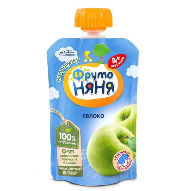 ФрутоНяня пюре яблоко 90г купить в Москве по цене от 0 рублей