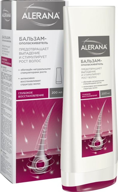 Алерана бальзам-ополаск. для волос глубок.восст. 200мл купить в Москве по цене от 422 рублей