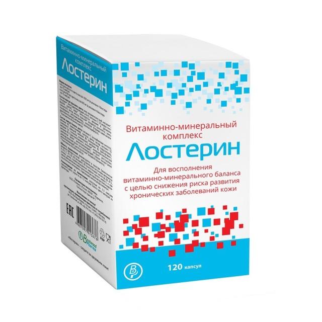 Лостерин капсулы №120 купить в Москве по цене от 1190 рублей