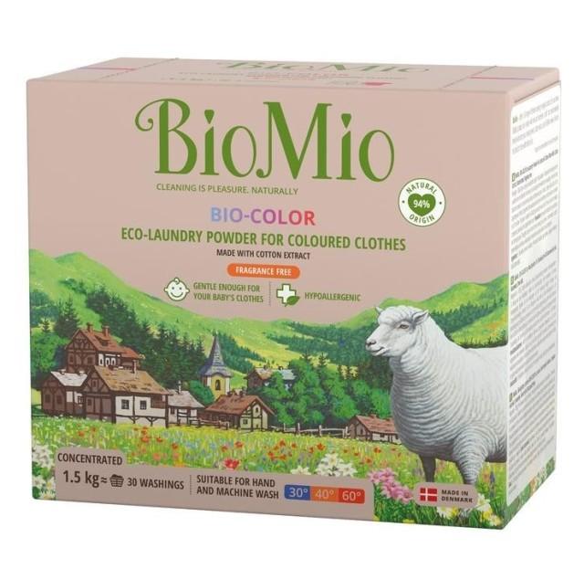 БиоМио средство для стирки цветн.белья 1,5л купить в Москве по цене от 0 рублей