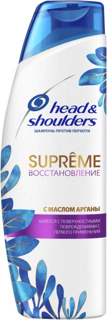 Хэд энд Шолдерс шампунь Суприм восст.масло арганы 300мл купить в Москве по цене от 0 рублей