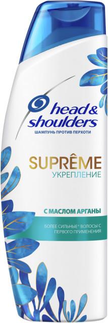 Хэд энд Шолдерс шампунь Суприм укрепл.масло арганы 300мл купить в Москве по цене от 0 рублей