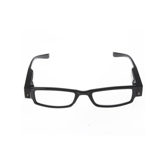 Очки черные/пластик с фонариком +2,0 купить в Москве по цене от 595 рублей