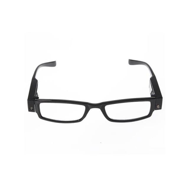 Очки черные/пластик с фонариком +2,5 купить в Москве по цене от 602 рублей