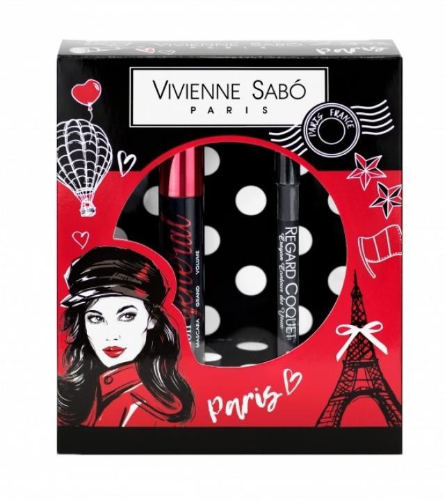 Вивьен Сабо набор тушь для ресниц Мон Женерал т.01+карандаш для глаз т.301 купить в Москве по цене от 0 рублей
