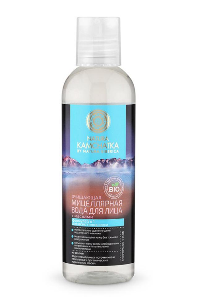 Натура Сиберика вода мицеллярная очищающая с маслами 200мл купить в Москве по цене от 0 рублей