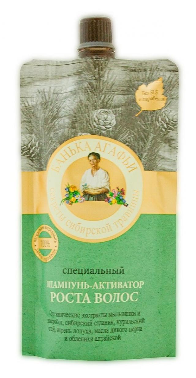 Банька Агафьи шампунь активатор роста 100мл купить в Москве по цене от 0 рублей