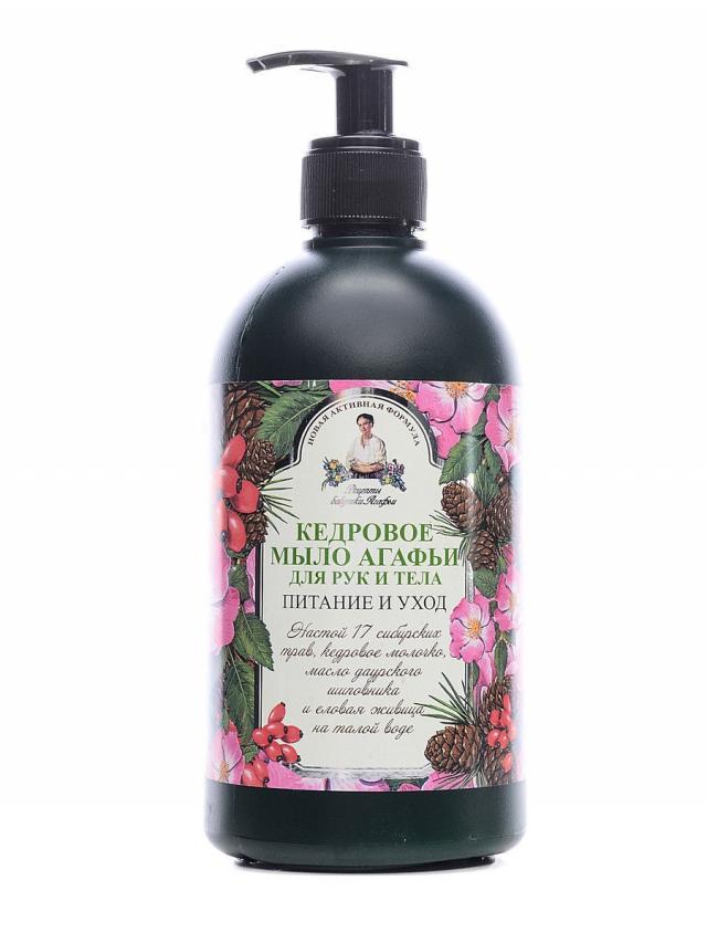 Рецепты Бабушки Агафьи мыло жидкое в ассортименте 500мл купить в Москве по цене от 0 рублей