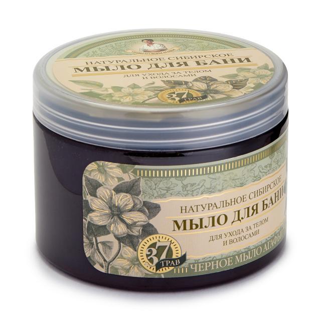 Травы и сборы Агафьи мыло д/бани черное 500мл купить в Москве по цене от 0 рублей