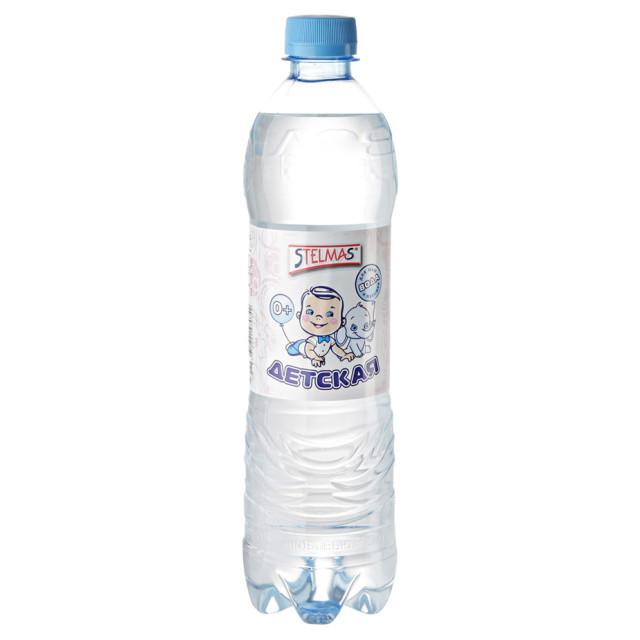 Вода питьевая для детей Стелмас 0,6л купить в Москве по цене от 30 рублей