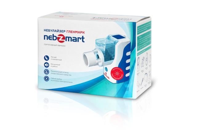 Гленмарк небулайзер портативный Nebzmart MBPN002 купить в Москве по цене от 3460 рублей