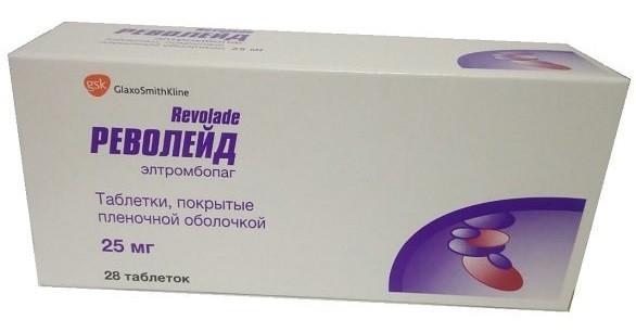 Револейд таб.25 мг №28 купить в Москве по цене от 0 рублей