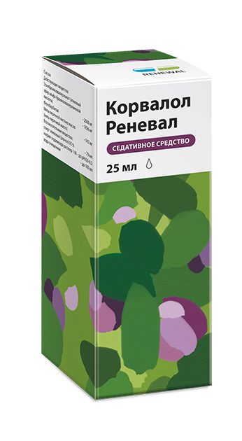 Корвалол капли внутрь 25мл купить в Москве по цене от 83 рублей