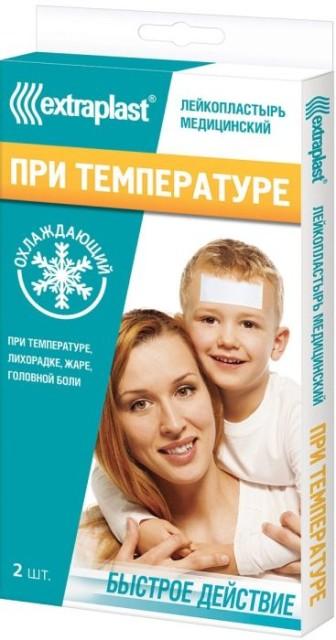 Экстрапласт пластырь от температуры №2 купить в Москве по цене от 189 рублей