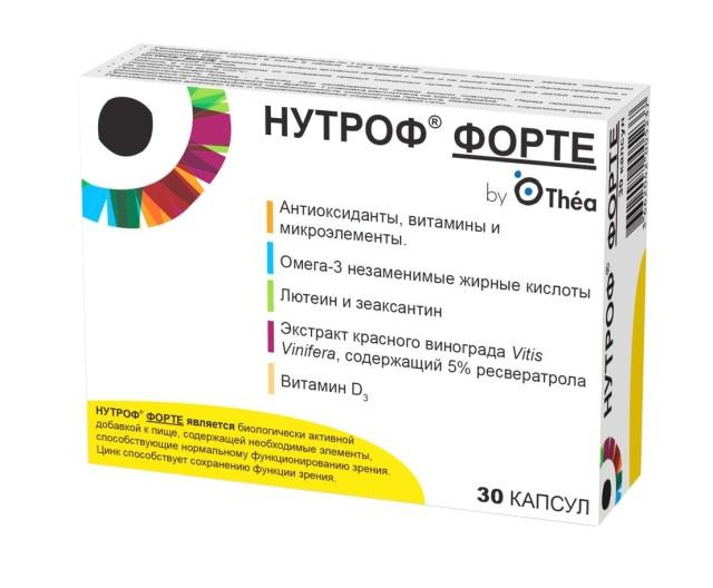 Нутроф форте капсулы №30 купить в Москве по цене от 750 рублей
