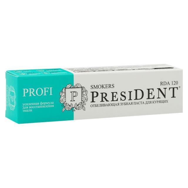 Президент зубная паста Смокерс 50мл купить в Москве по цене от 219 рублей