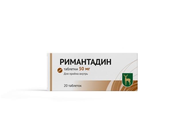 Ремантадин (Римантадин) МЭЗ таблетки 50мг №20 купить в Москве по цене от 90 рублей