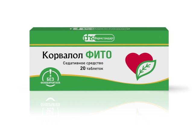 Корвалол Фито таблетки №20 купить в Москве по цене от 137 рублей
