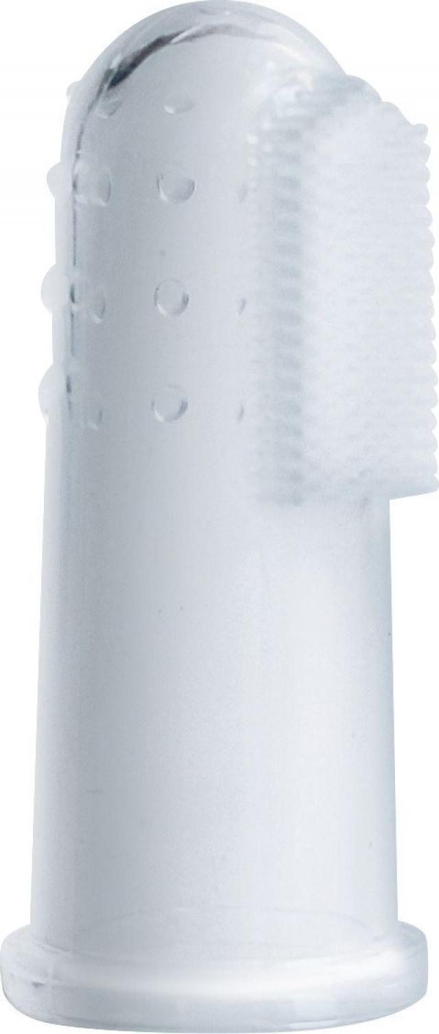 Лабби зубная щетка на палец силикон от 4мес. 13696 купить в Москве по цене от 110 рублей