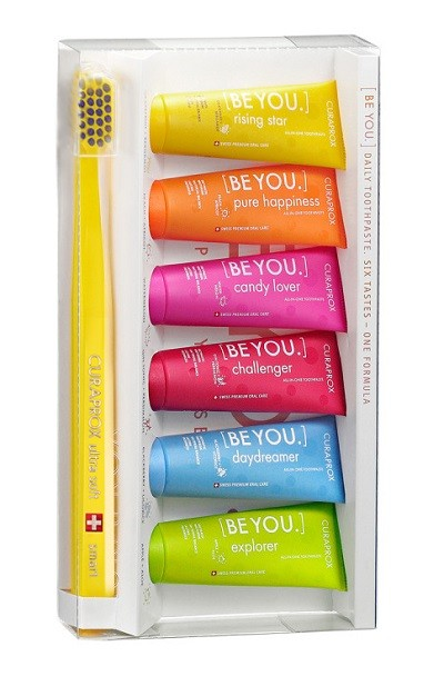 Курапрокс набор зубная паста 10млх6+з/щетка для детей Смарт Be You Mix set Smart купить в Москве по цене от 2430 рублей