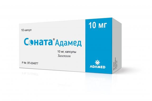 Соната Адамед капсулы 10мг №10 купить в Москве по цене от 452 рублей