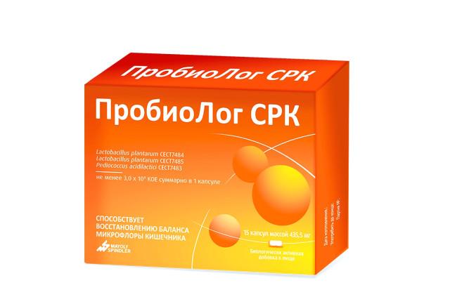 Пробиолог СРК капсулы №15 купить в Москве по цене от 611 рублей