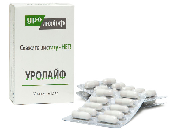 Уролайф капсулы №30 купить в Москве по цене от 470 рублей
